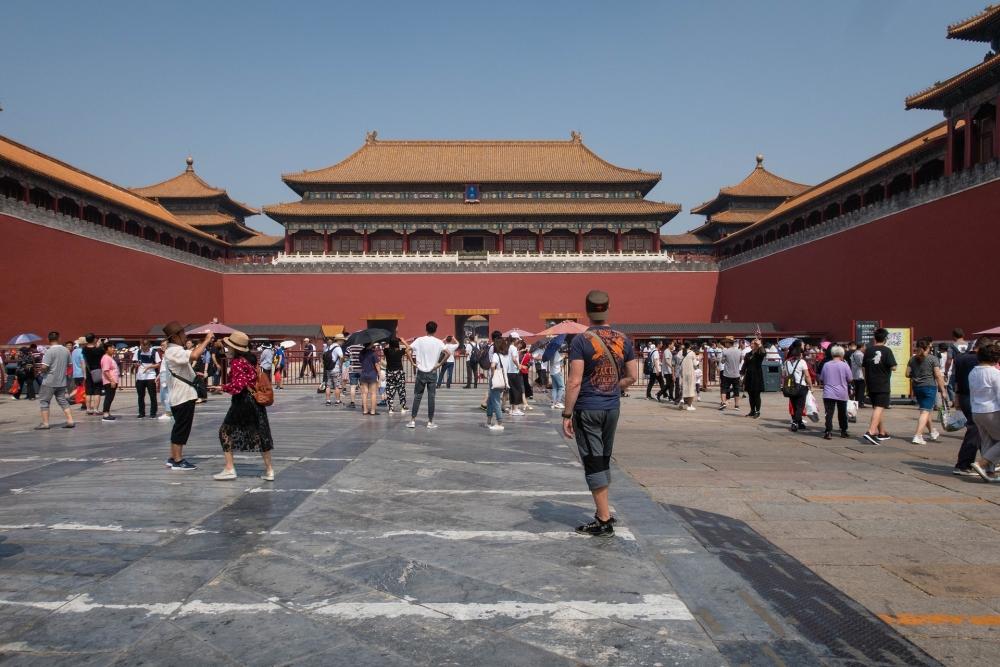Mittagstor / Verbotene Stadt in Beijing / China