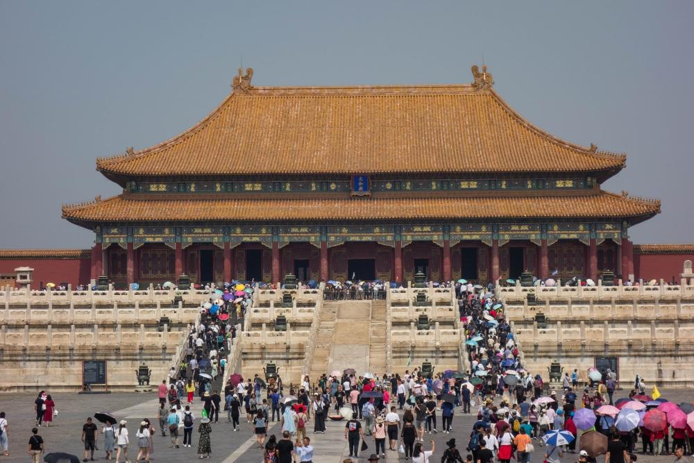 Halle der Höchsten Harmonie in der Verbotenen Stadt in Beijing / China