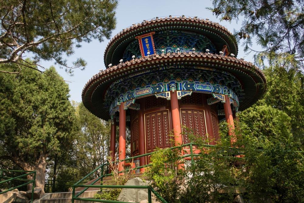 Jing Shan Park in Beijing / China