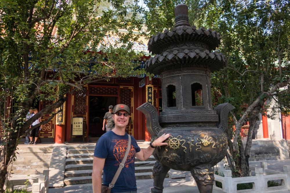 Jade-Urne im Bei Hai Park in Beijing / China
