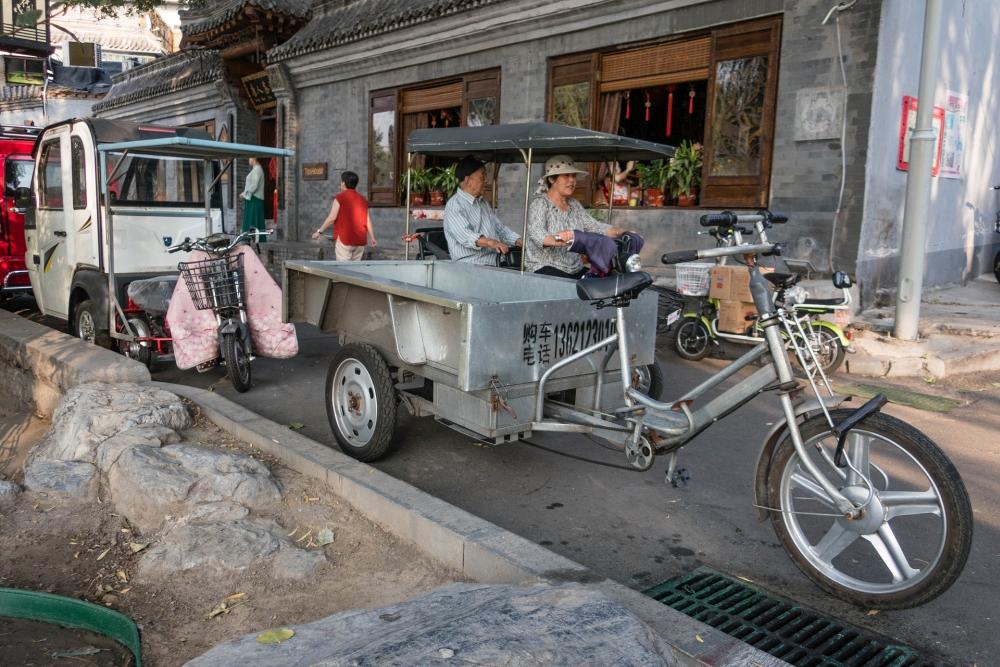Hutongs in Beijing / China