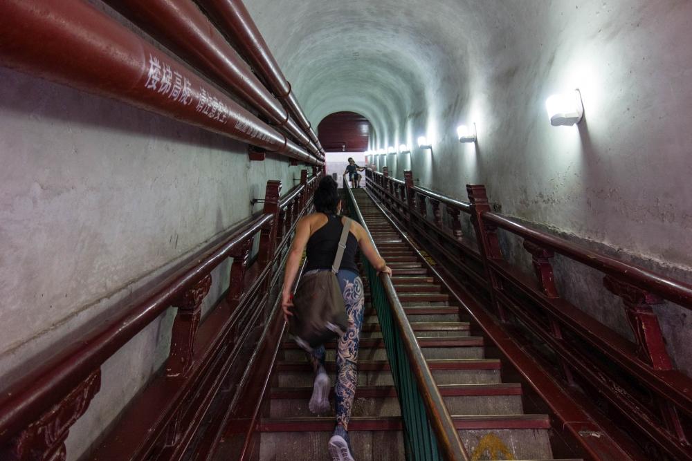Trommelturm in Beijing / China