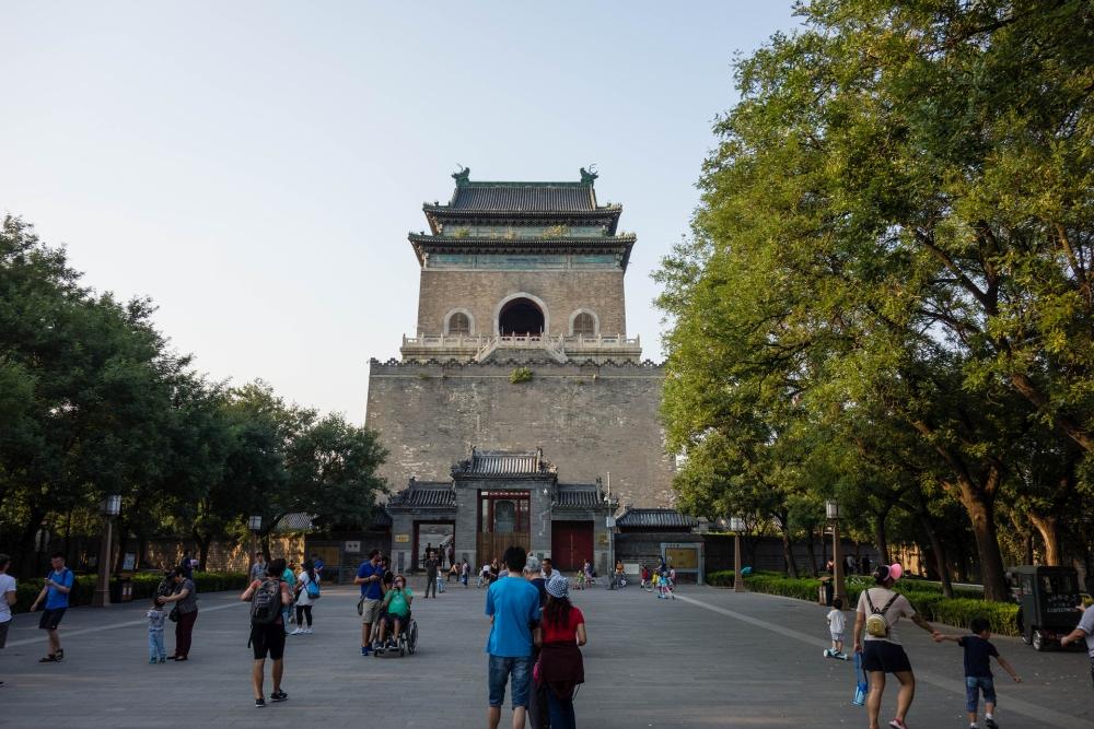 Glockenturm in Beijing / China