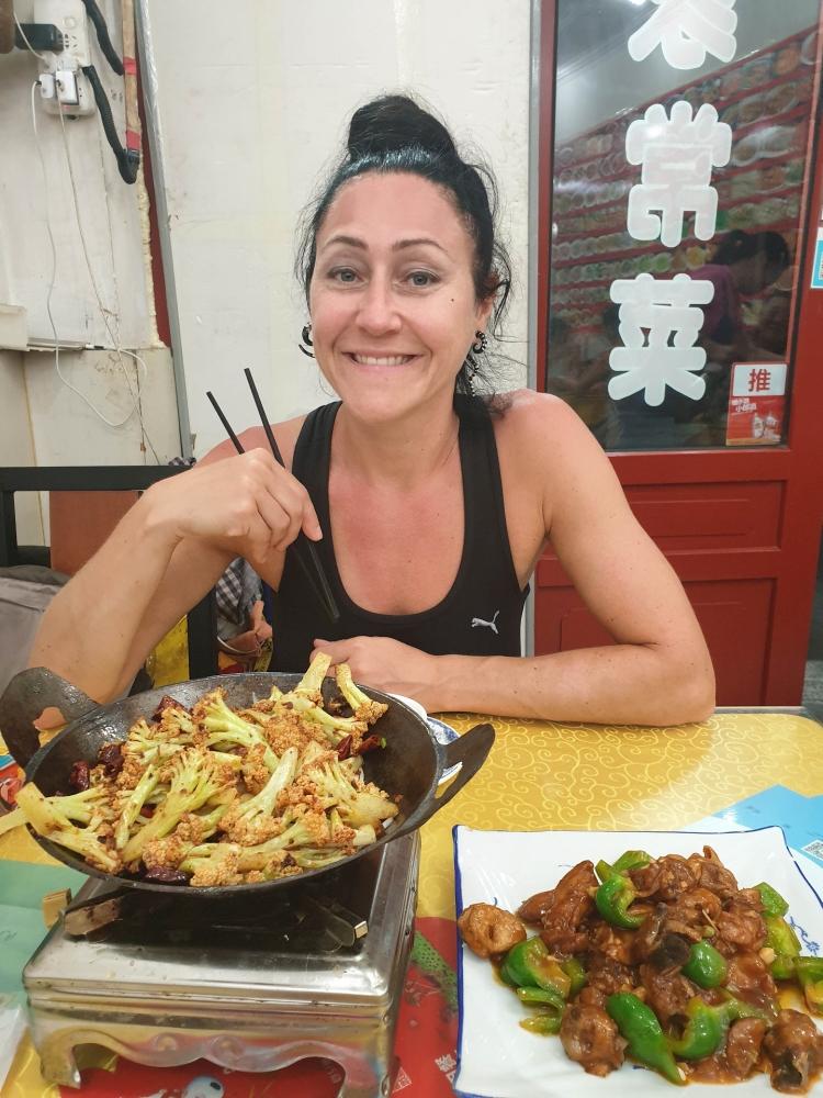 Essen in Beijing / China