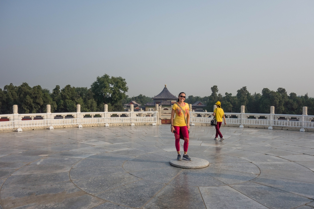 Himmelsaltar im Tian Tan in Beijing / China