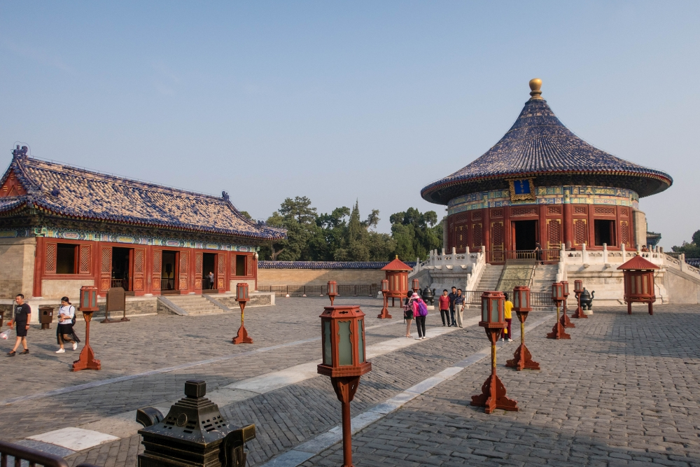 Kaiserlische Himmelsgewölbe im Tian Tan in Beijing / China
