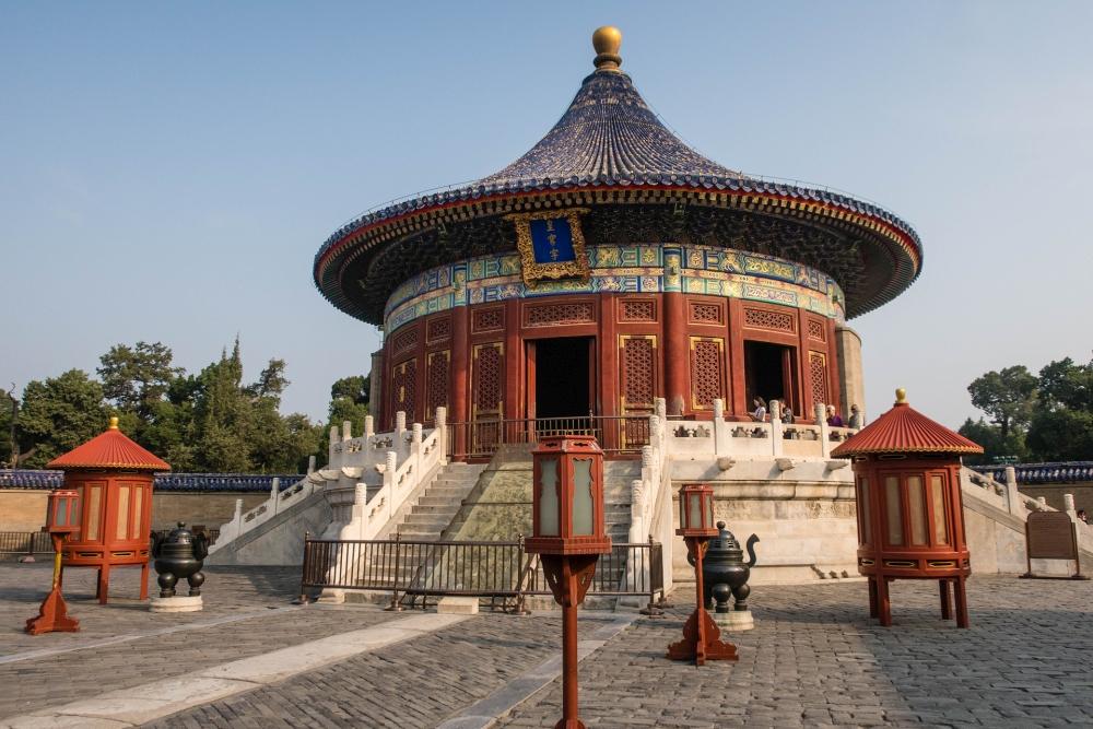 Kaiserliches Himmelsgewölbe im Tian Tan in Beijing / China