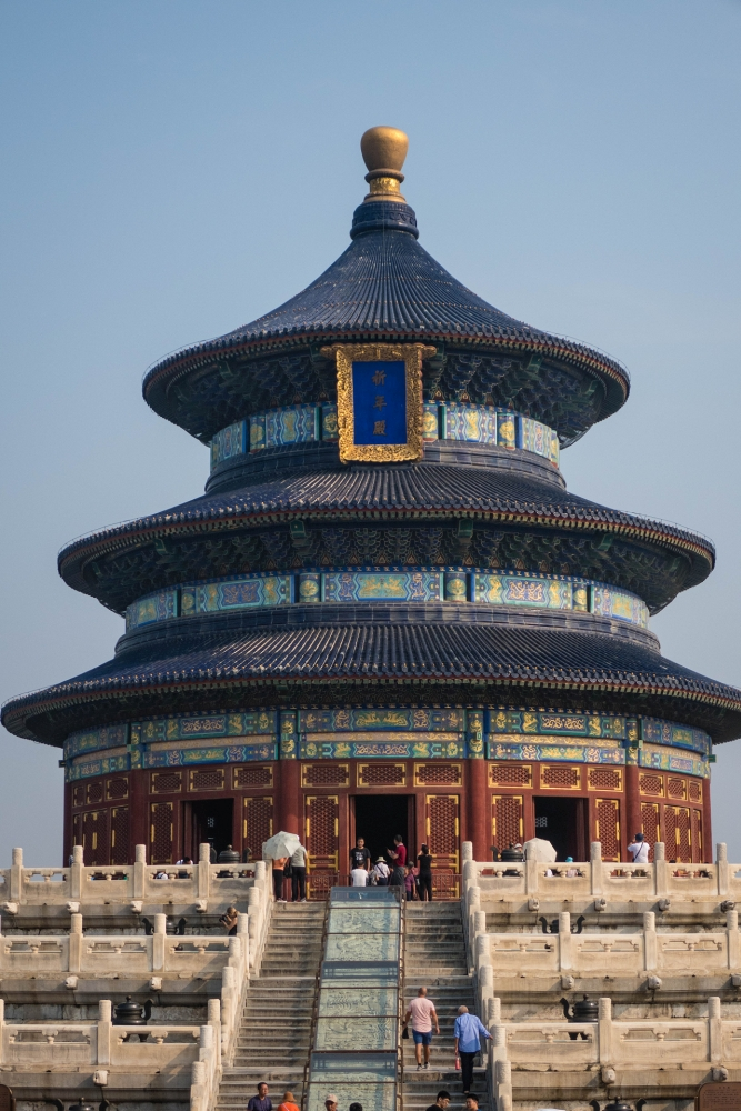 Halle des Erntegebets im Tian Tan in Beijing / China