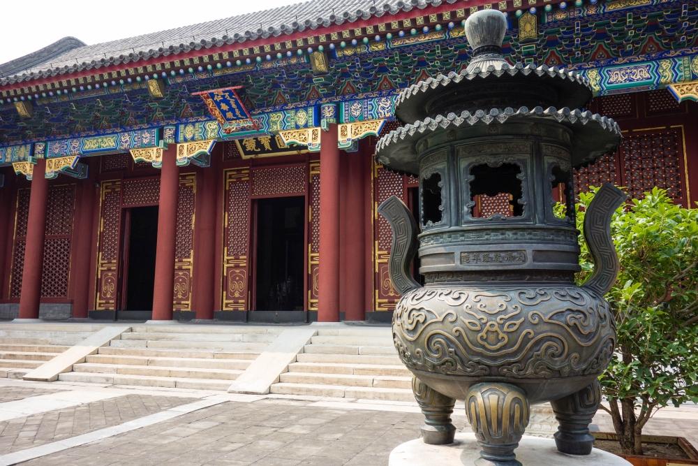 Halle des Wohlwollens und der Langlebigkeit im Sommerpalast in Beijing / China