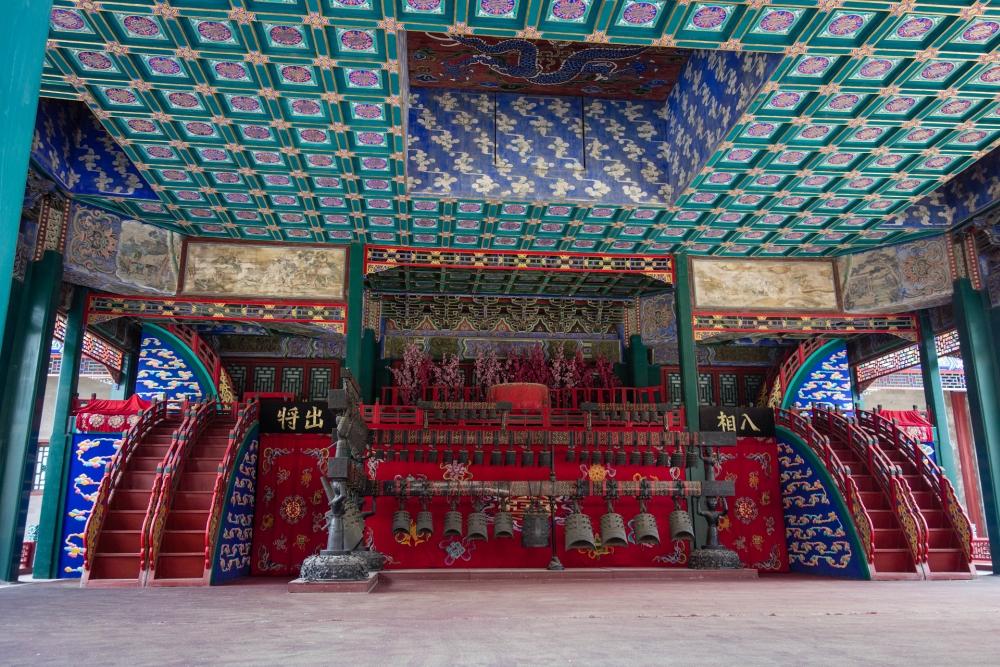 Garten der Tugend und Harmonie im Sommerpalast in Beijing / China
