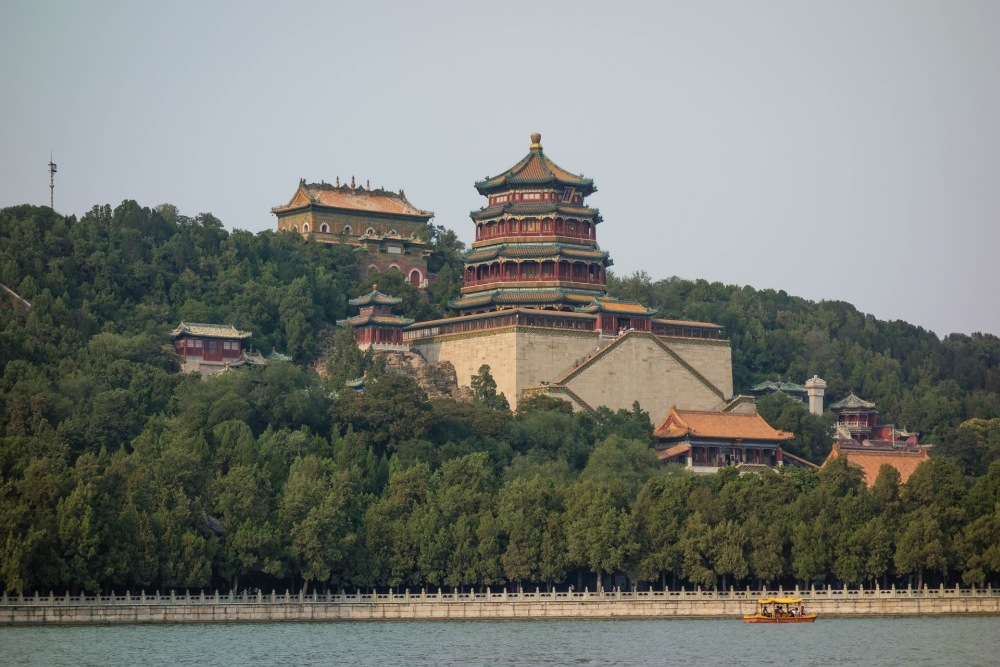 Kunming See & Sommerpalast in Beijing / China