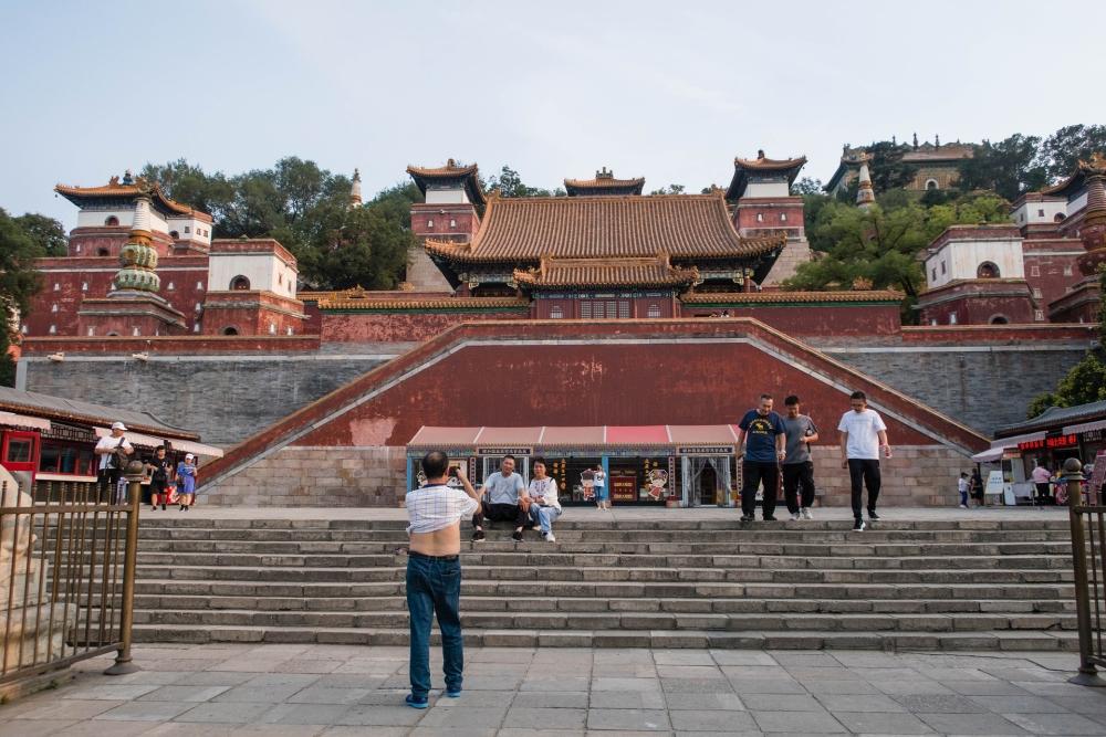 Tibetischer Tempel im Sommerpalast in Beijing / China
