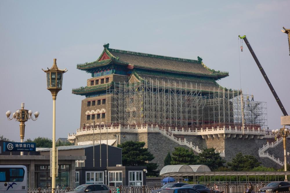 Jiao Laou / Pfeilturm in Beijing / China