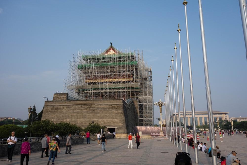 Zhengyang Men am Tian'an Men Platz in Beijing / China