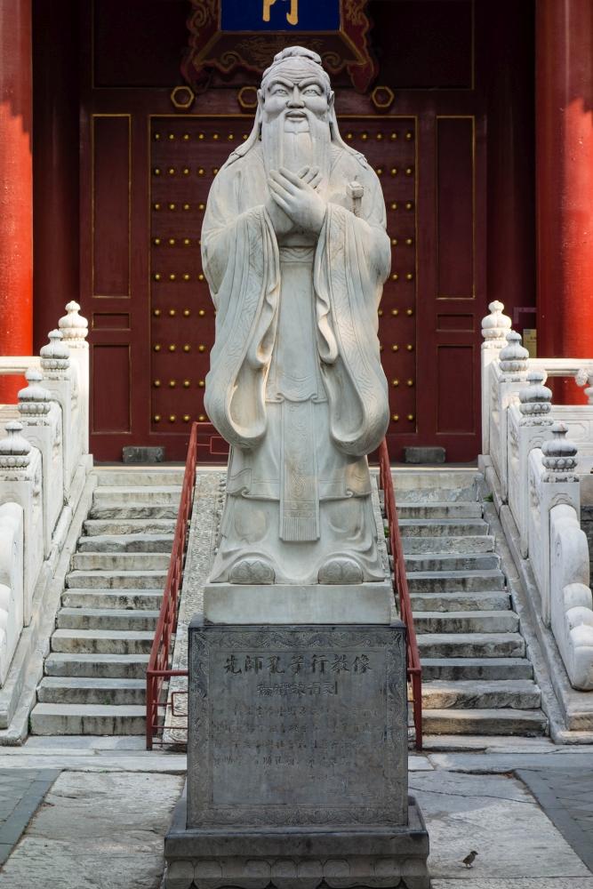 Konfuziustempel in Beijing / China