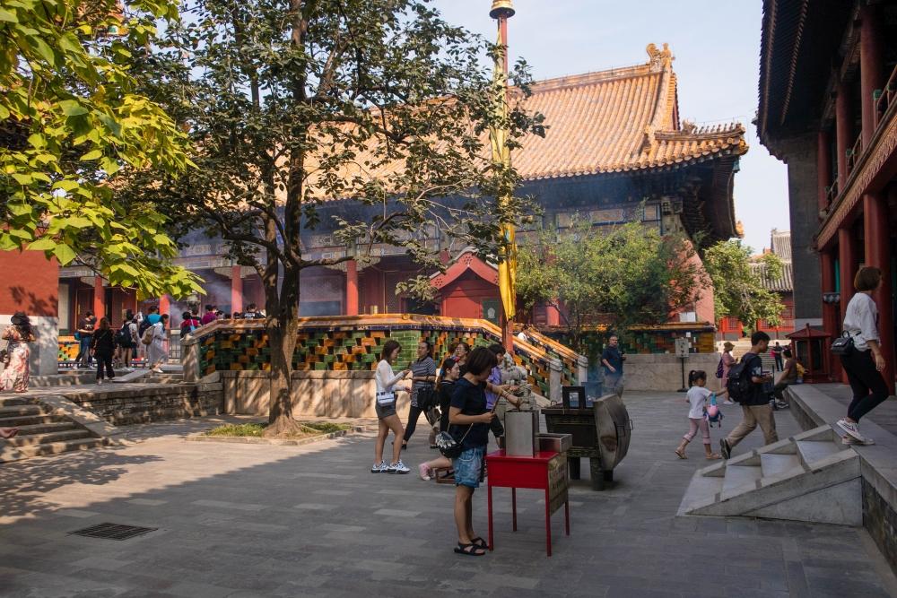 Lamatempel in Beijing / China
