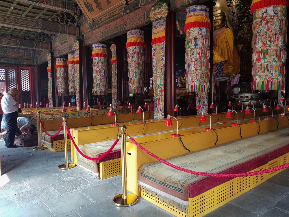 Falun Dian im Lamatempel in Beijing / China