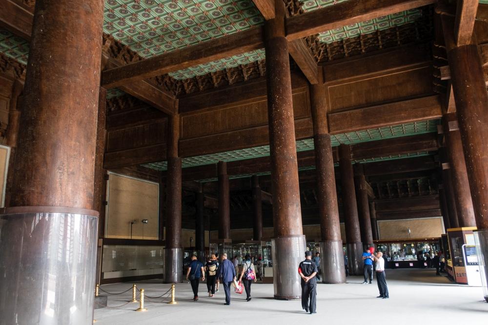 Grabanlage von Chang Ling - Ming-Gräber bei Beijing / China