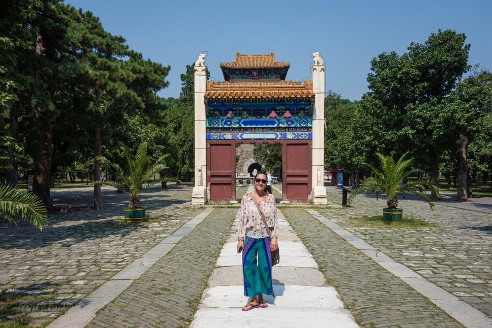 Chang Ling - Ming-Gräber bei Beijing / China