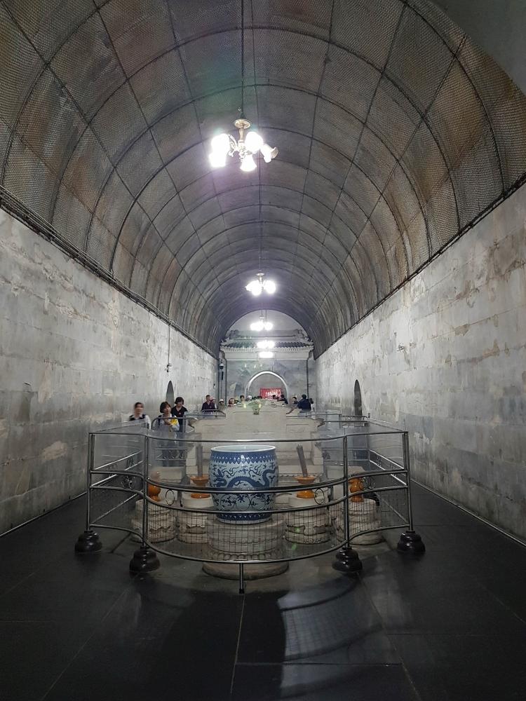 Grabkammer von Ding Ling - Ming-Gräber bei Beijing / China