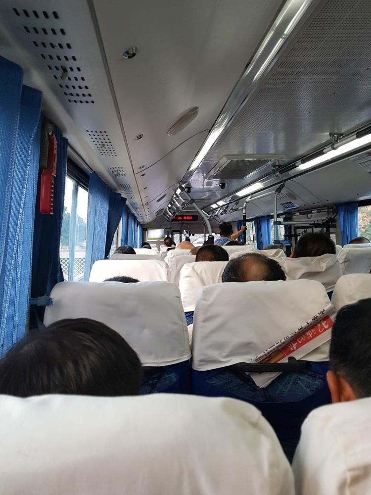 Bus nach Gubeikou / Chinesische Mauer