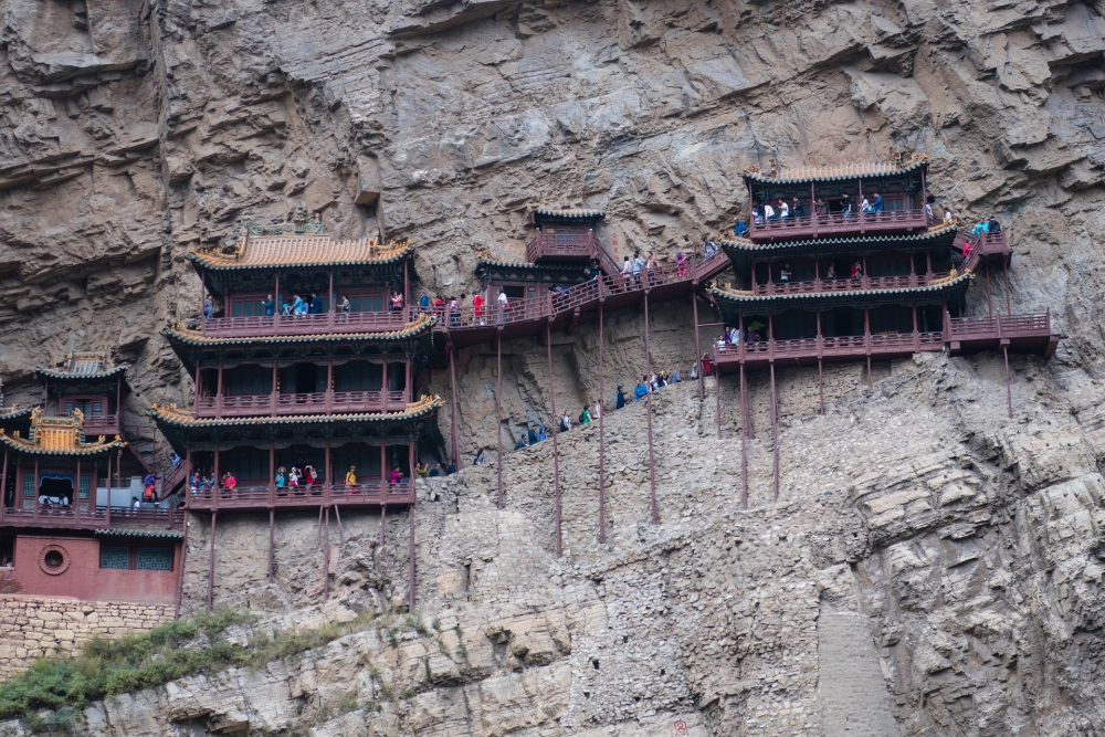 Hängendes Kloster bei Datong / China