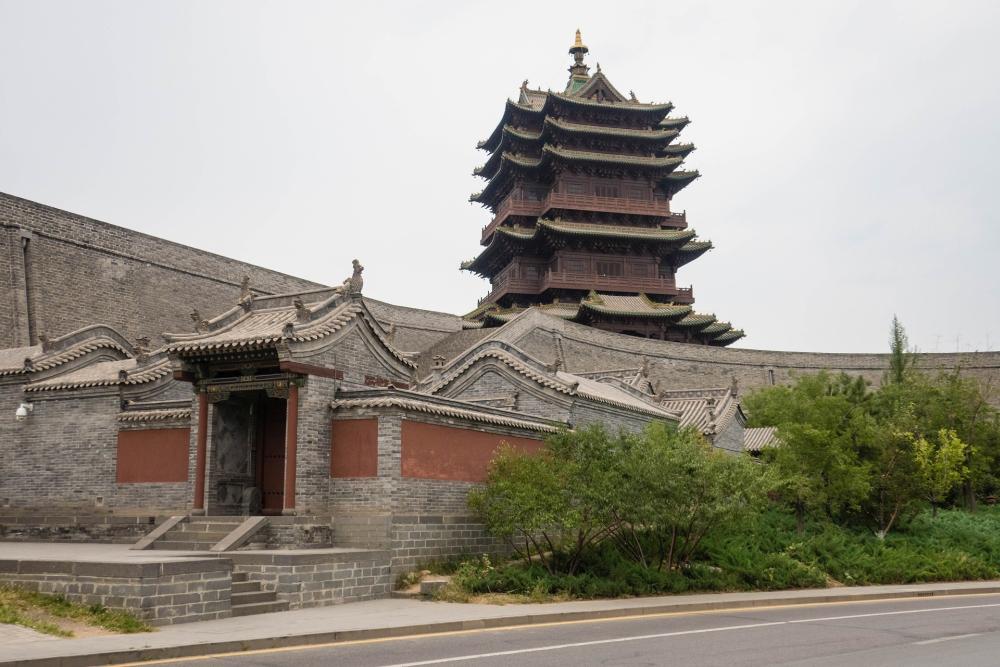 Stadtmauer von Datong / China