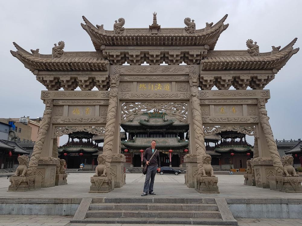 Shanhua Tempel in der Altstadt von Datong / China