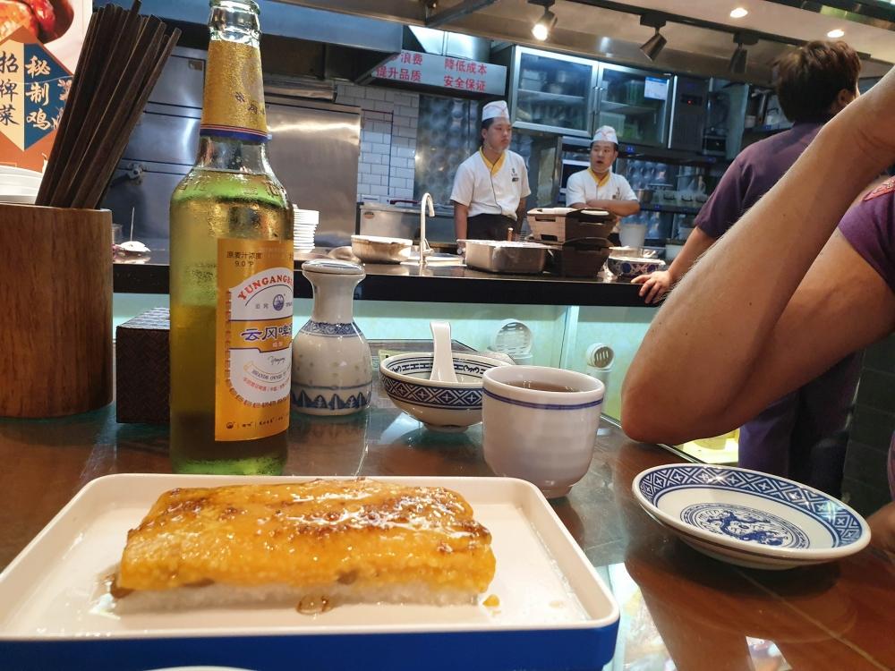 Chinesisches Essen in Datong / China
