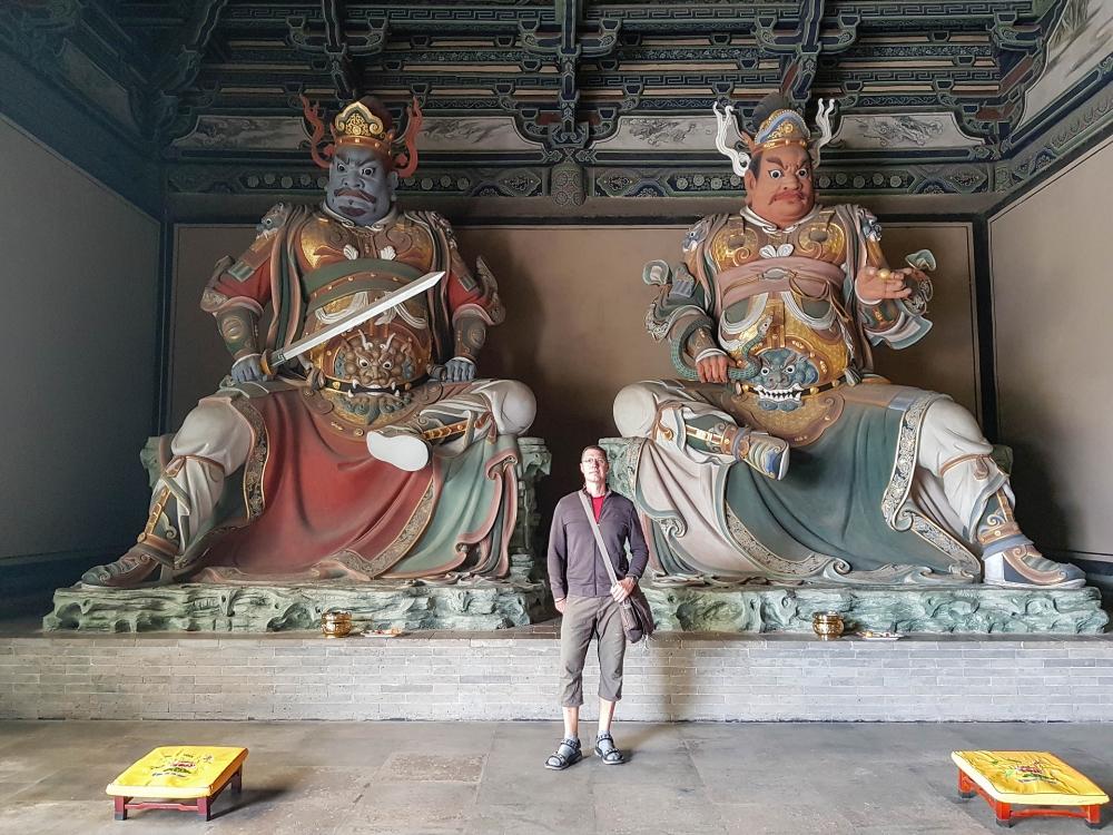 Huayan Si in der Altstadt von Datong / China