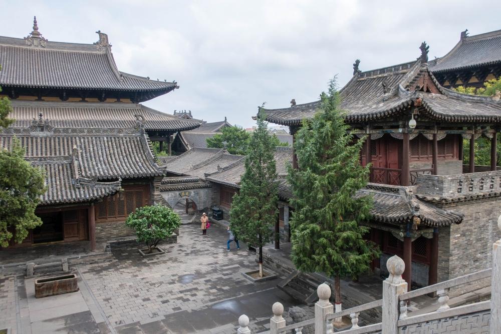 Huayan Si in der Altstadt von Datong / Chin