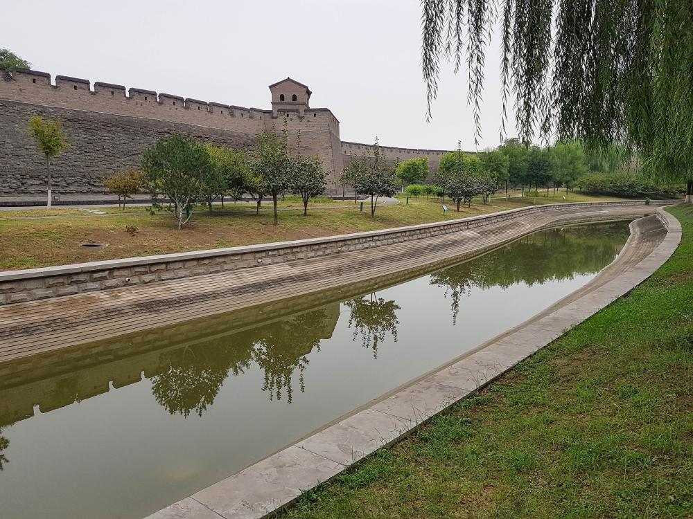 Mauer von Pingyao in Shanxi / China
