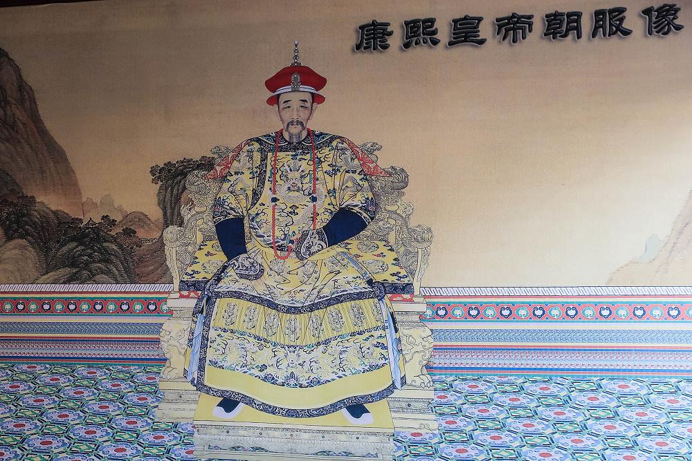 Kaiser Kangxi in Chengde / China