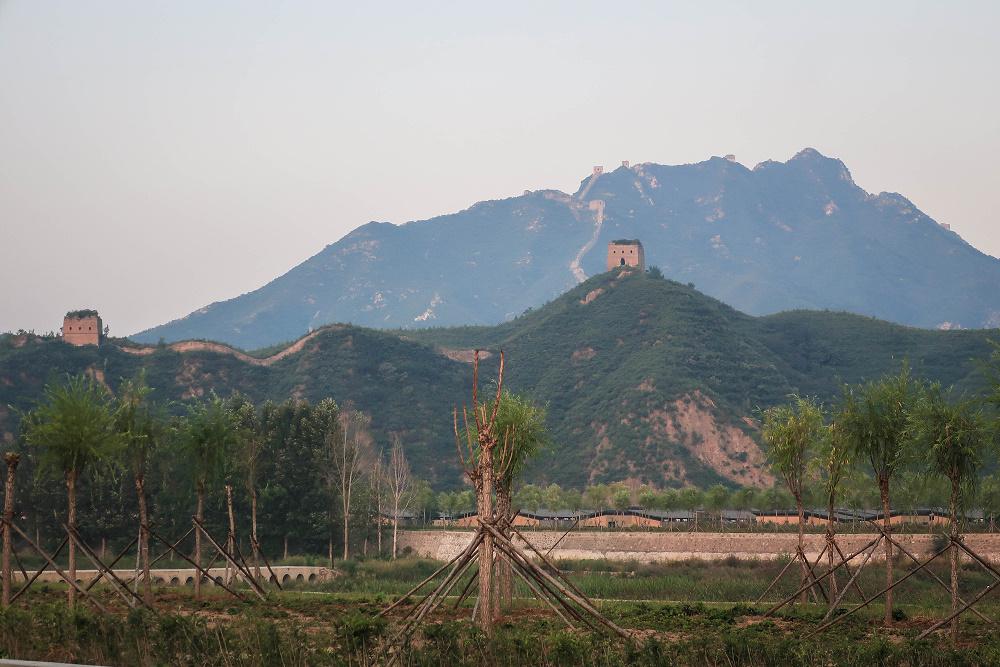 Chinesische Mauer in Jinshanling / China