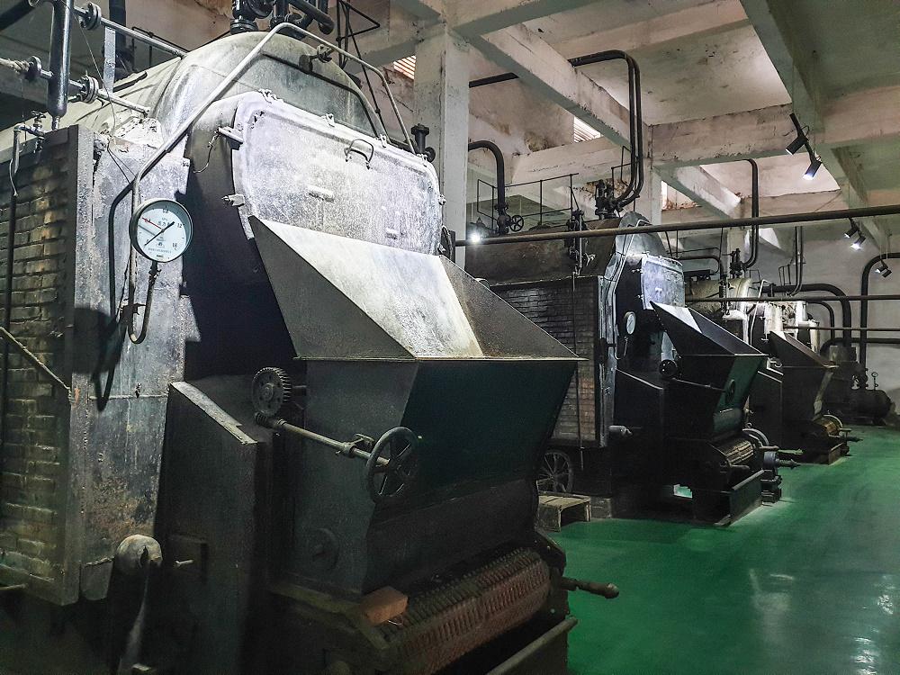 Kohlemuseum in Datong / China