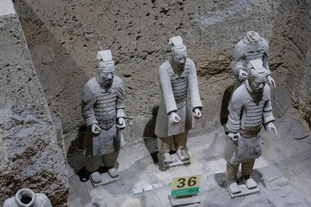 Terrakotta-Armee in Xi'an / Shaanxi / China