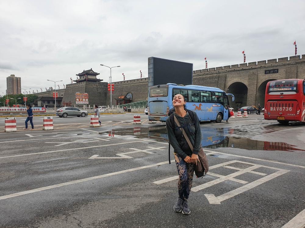 Stadtmauer in Xi'an / Shaanxi / China