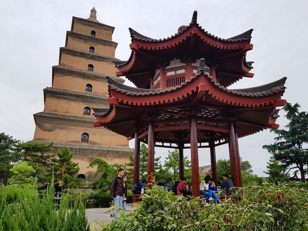 Dayan Ta in Xi'an / Shaanxi / China