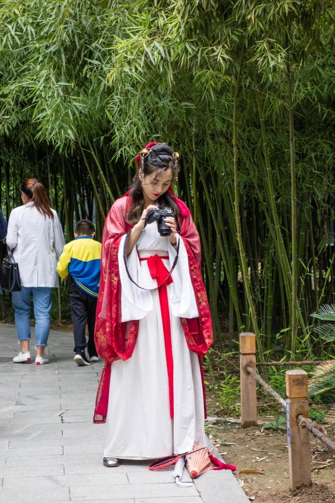 Chinesinnen in Xi'an / Shaanxi