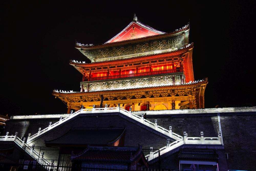 Trommelturm von Xi'an / Shaanxi / China