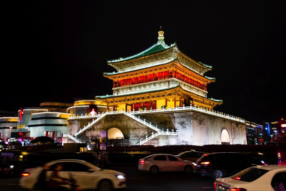 Glockenturm von Xi'an / Shaanxi / China