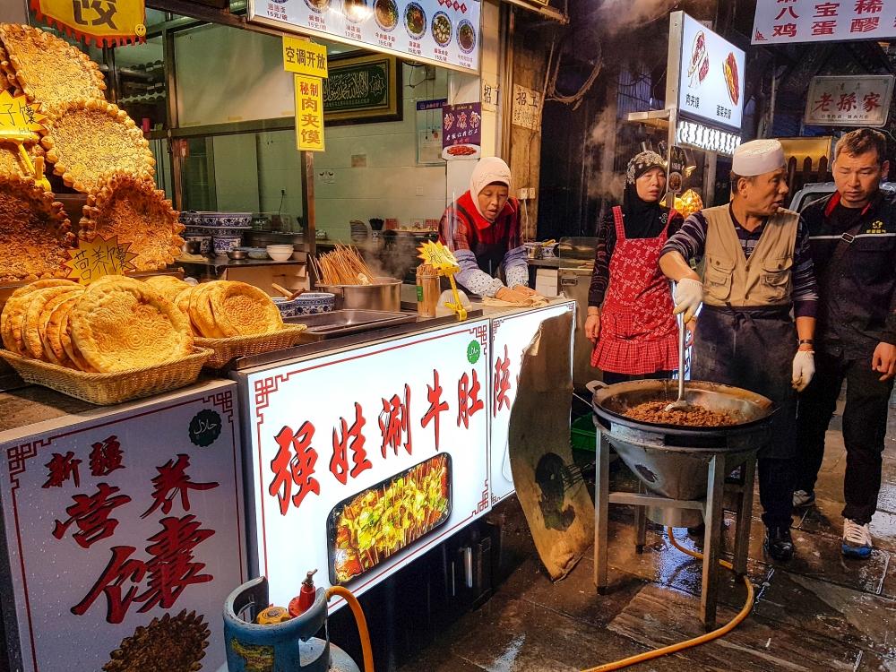 Muslimisches Viertel von Xi'an / Shaanxi / China