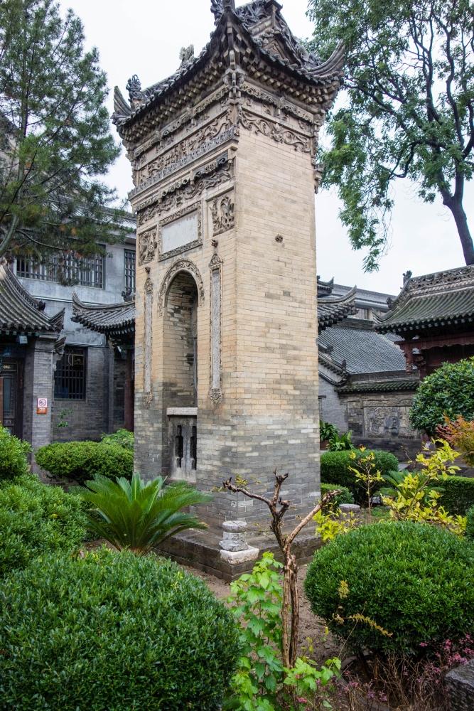 Große Moschee im Muslimischen Viertel von Xi'an / Shaanxi / China