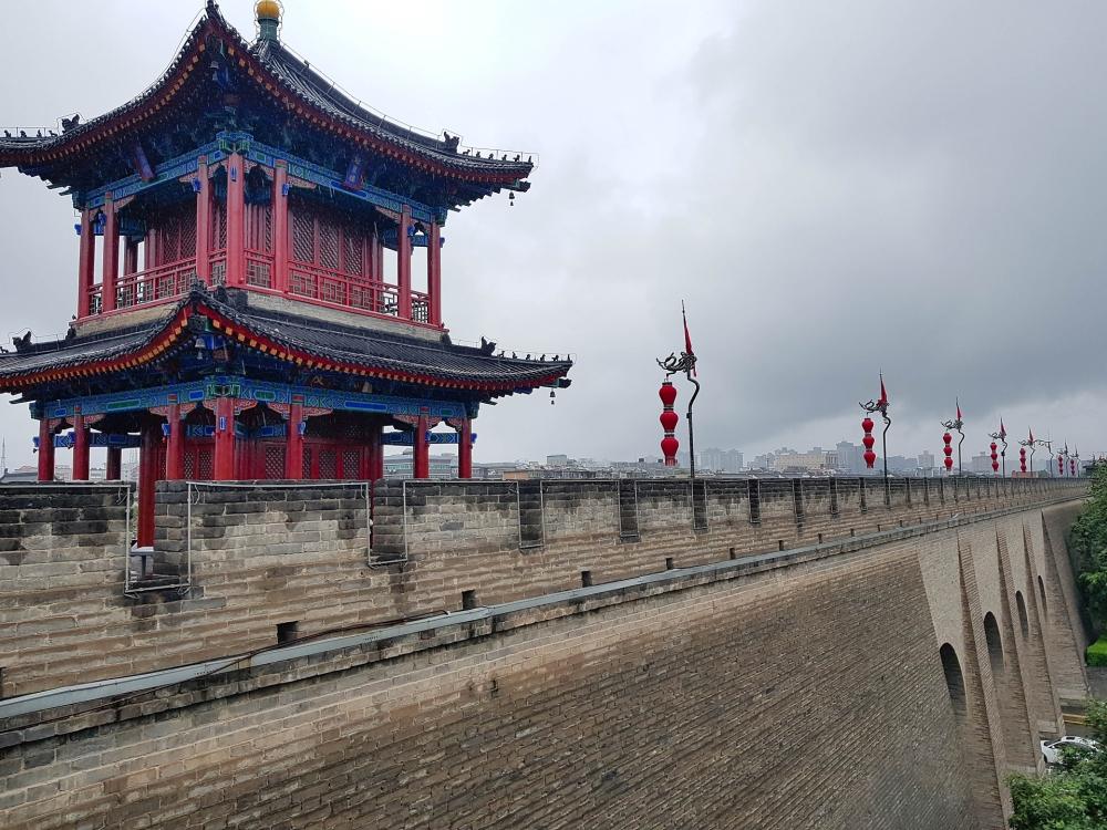 Stadtmauer von Xi'an / Shaanxi / China