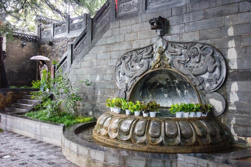Xiang Shansi an den Longmen-Grotten bei Luoyang / Henan / China