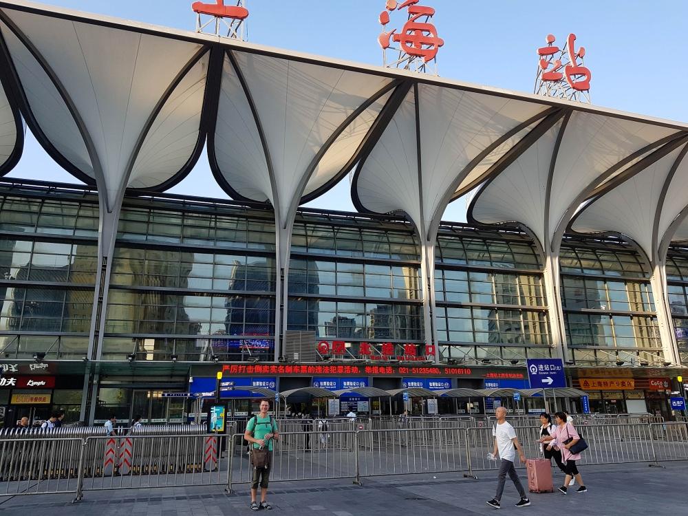 Bahnhof von Shanghai / China