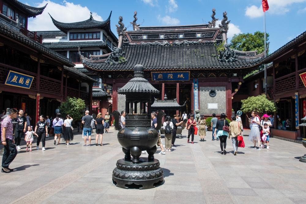 Cheng Huang Miao in Shanghai / China