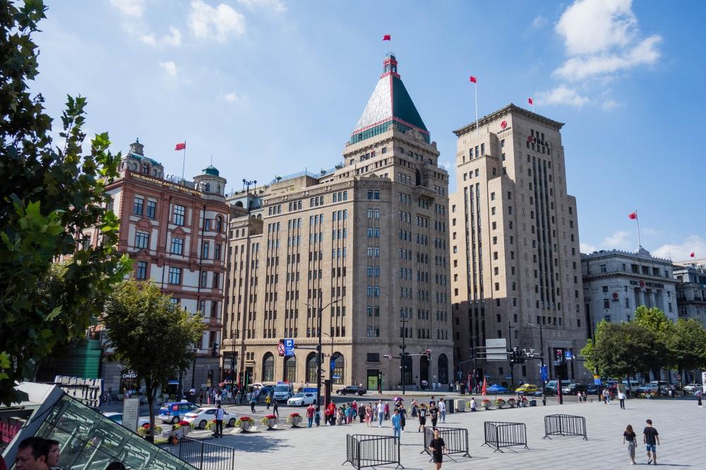 Der Bund in Shanghai / China