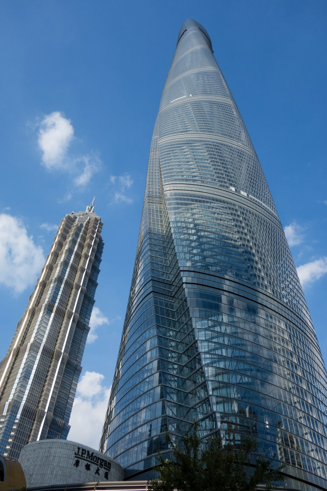 Shanghai Tower in Pudong / China