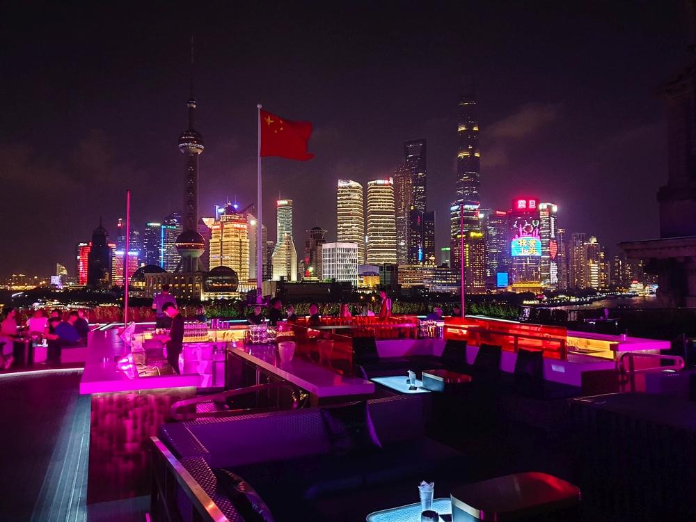 Bar Rouge am Bund in Shanghai / China